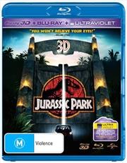Jurassic Park | 3D + 2D Blu-ray