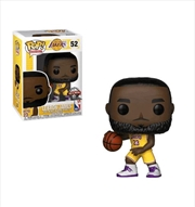 NBA: Lakers - LeBron James (Yellow Uniform) Pop! Vinyl  | Pop Vinyl