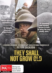 They Shall Not Grow Old | DVD