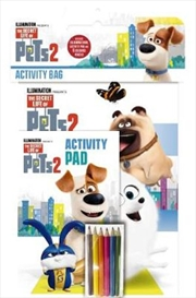 Secret Life of Pets #2: Activity Bag | Paperback Book