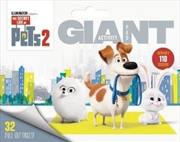 Secret Life of Pets #2: Giant Activity Pad | Paperback Book