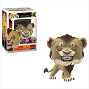 Lion King (2019) - Scar Flocked US Exclusive Pop! Vinyl [RS]