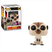 Lion King (2019) - Timon Flocked US Exclusive Pop! Vinyl [RS]