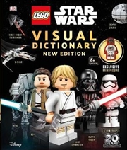 LEGO Star Wars Visual Dictionary New Edition | Hardback Book