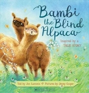 Bambi The Blind Alpaca