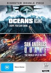 Oceans Rising / San Andreas Quake | DVD