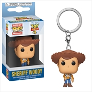 Toy Story 4 - Woody Pocket Pop! Keychain | Pop Vinyl