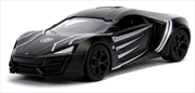 Black Panther - Lykan Hypersport 1:32 Hollywood Ride | Merchandise