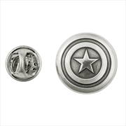 Marvel Collection Pewter Captain America Lapel Pin