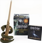 Harry Potter Voldemort's Wand with Sticker Kit | Merchandise