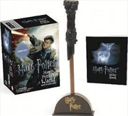 Harry Potter Wizard's Wand with Sticker Book | Merchandise