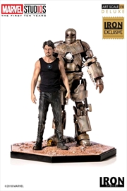 Iron Man - Tony Stark & Mark I 1:10 Scale Statue Exclusive