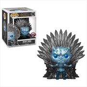 Game of Thrones - Night King Throne Metallic US Exclusive Pop! Deluxe [RS] | Pop Vinyl