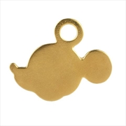 Mickey Mouse Gilt Silhouette Pendant | Merchandise