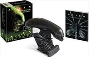 Alien: Hissing Xenomorph and Illustrated Book | Merchandise