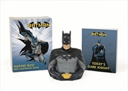 Batman: Talking Bust and Illustrated Book | Merchandise