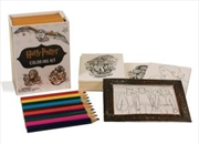 Harry Potter Coloring Kit   Merchandise
