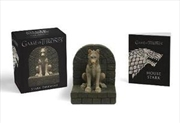 Game of Thrones Book Gift Set - Stark Direwolf
