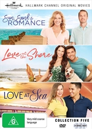 Hallmark - Sun, Sand and Romance / Love At The Shore / Love At Sea - Collection 5