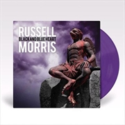 Black And Blue Heart -  Purple Coloured Vinyl