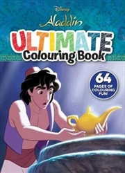 Disney Aladdin: Ultimate Colouring | Paperback Book