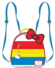 Hello Kitty - Striped with Bow Mini Backpack