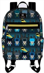 Batman - Gotham City Chibi Print Mini Backpack