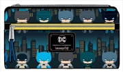 Batman - Gotham City Chibi Print Flap Wallet | Apparel