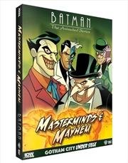 Batman: The Animated Series - Gotham Under Seige: Masterminds & Mayhem Expansion