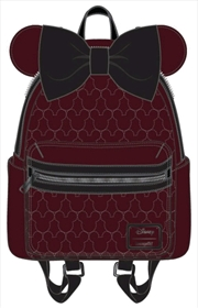 Mickey Mouse - Brown with Bow & Ears Mini Backpack | Apparel