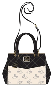 Mickey Mouse - Mickey & Minnie B&W Tote Bag