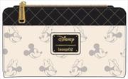 Mickey Mouse - Mickey & Minnie B&W Flap Wallet