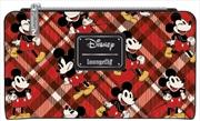 Mickey Mouse - Mickey Tartan Print Bifold Wallet | Apparel