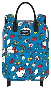 Hello Kitty - Blue Collage Backpack