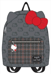 Hello Kitty - Grey Mini Backpack with Bow