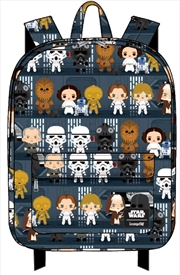 Star Wars - Death Star Chibi Print Backpack