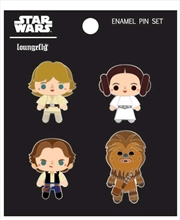 Star Wars - Chibi Enamel Pin 4-pack