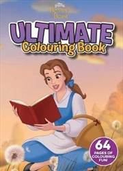 Disney: Beauty and the Beast Ultimate Colouring Book | Paperback Book