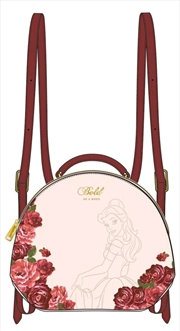 Beauty and the Beast - Bold as a Rose Mini Backpack