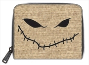 A Nightmare Before Christmas - Oogie Boogie Burlap Zip Wallet