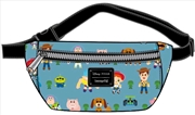 Toy Story 4 - Chibi Print Bum Bag | Apparel