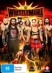 WWE - Wrestle Mania XXXV | DVD