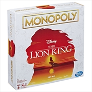 Lion King Monopoly