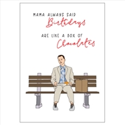 Birthday Card - Box Of Chocolates | Merchandise