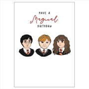 Birthday Card - Magical Birthday | Merchandise