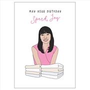 Birthday Card - Spark Joy | Merchandise
