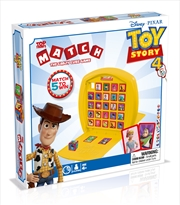 Toy Story 4 - Top Trumps Match Board Game | Merchandise