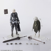 Nier: Replicant - Nier & Emil Bring Arts Action Figures Set