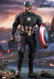 "Avengers 4 - Captain America 12"" 1:6 Scale Action Figure"