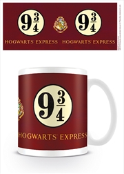 Harry Potter Platform 9 & 3/4 Mug | Merchandise